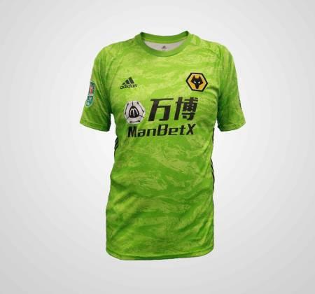Camisola de Rui Patrício do Wolverhampton Wanderers F.C.