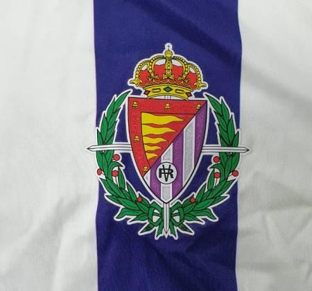 Real Valladolid Club de Fútbol shirt signed by Ronaldo Fenômeno