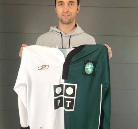 Sporting CP jersey signed by Tonel