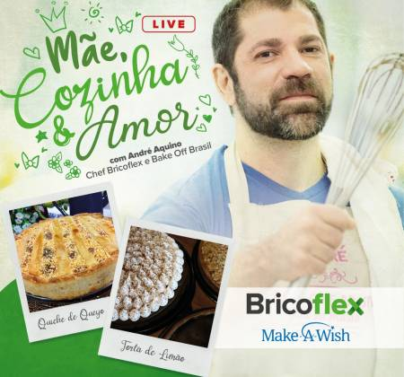 Mother's Day Experience with André Aquino from BakeOff Brasil