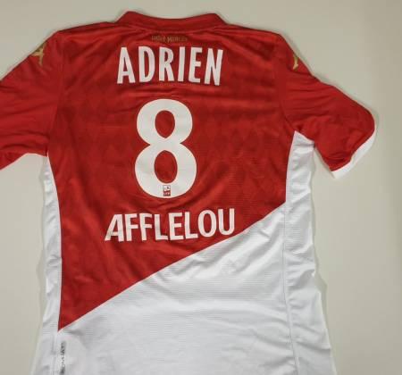 Camisola do Adrien Silva do AC. Mónaco