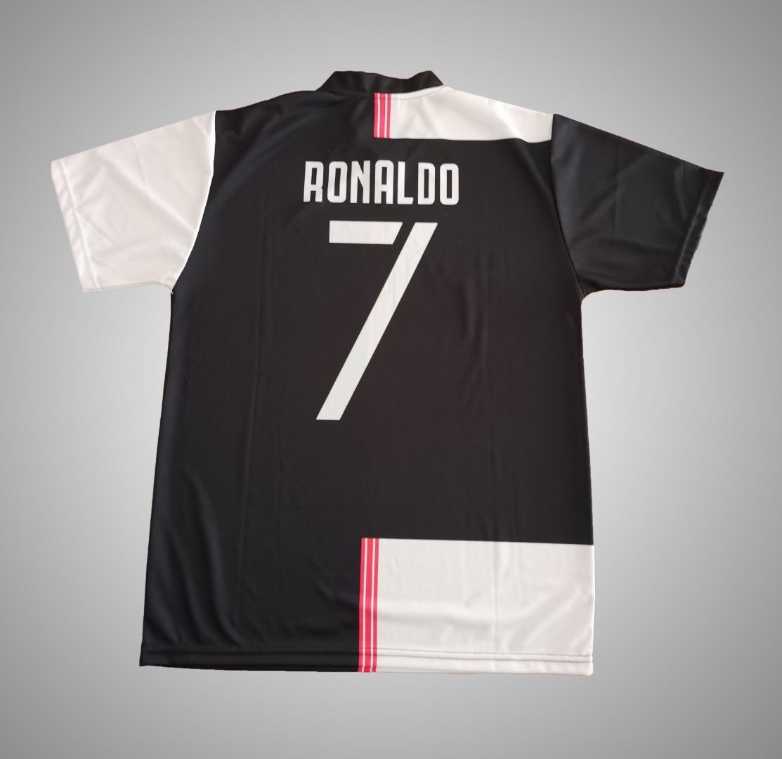 Camisola Juventus do CR7 Museu autografada pelo Cristiano Ronaldo