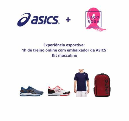 Experiência de treino com embaixador ASICS + KIT Masculino