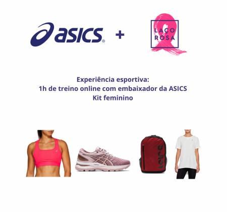 Experiência de treino com embaixador ASICS + KIT Feminino
