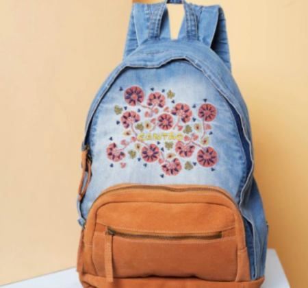 Embroidered Canton Backpack + Campaign Experience