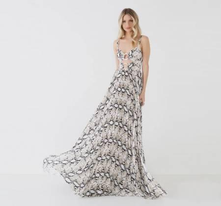 Vestido Longo Stephane - Pitton da marca Agilità