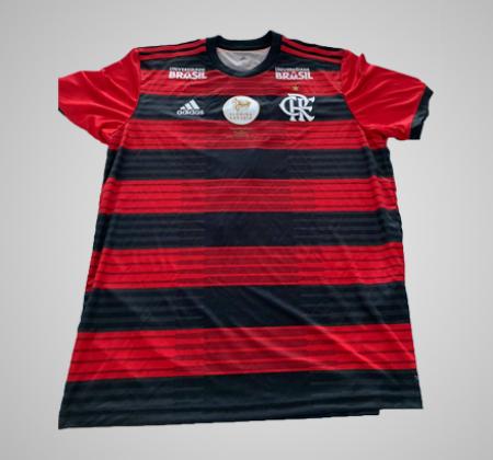 Camisa do C. R. Flamengo utilizada em final da Flórida Cup 2019