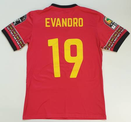Evandro Brandão jersey of the Angolan national team