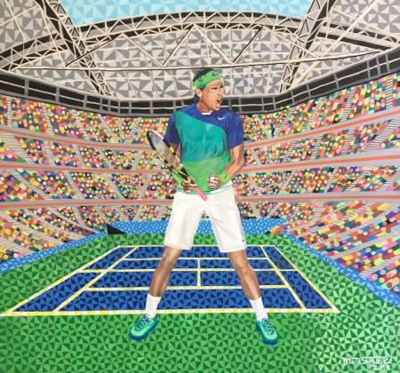 Obra US Open Rafael Nadal de Adalberto Mota