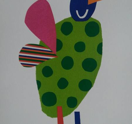 Artwork Bird in Foot by Gustavo Rosa