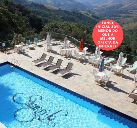 Shangri-la Hotel Pousada Serra Negra - 2 diárias para casal