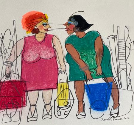Obra de arte do artista plástico Ronaldo Barbosa