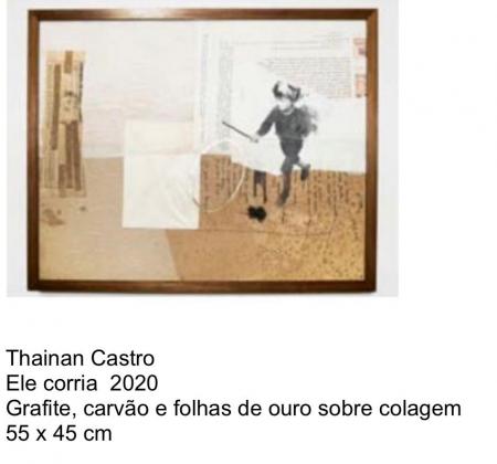 Leilão de obra de arte do artista Thainan Castro