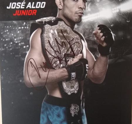 José Aldo - Poster autografado UFC