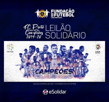 Lona de Campeão da Liga NOS 2019/20 Futebol Clube do Porto - 2