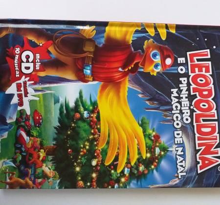 Leopoldina e o pinheiro mágico de Natal