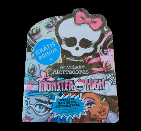 Livro de atividades Monster High - Atividades Aterradoras