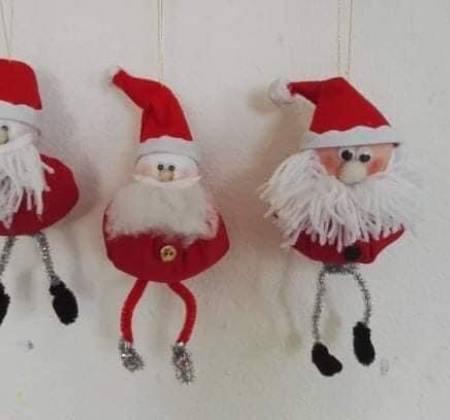 Pendente de Pai Natal Decoração