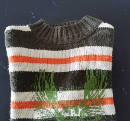 Camisola de inverno para menino