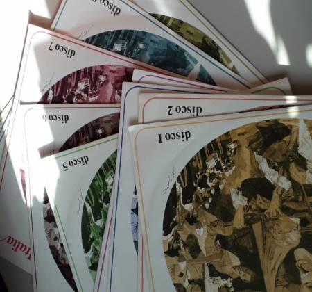 Discos Vinil- La piú bella musica d'Italia