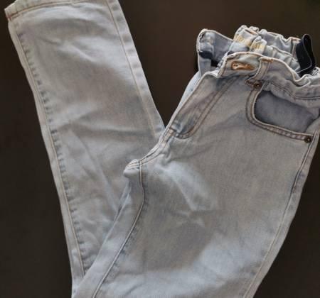 Calças de ganga claras