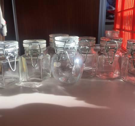 Conjunto de potes para compotas