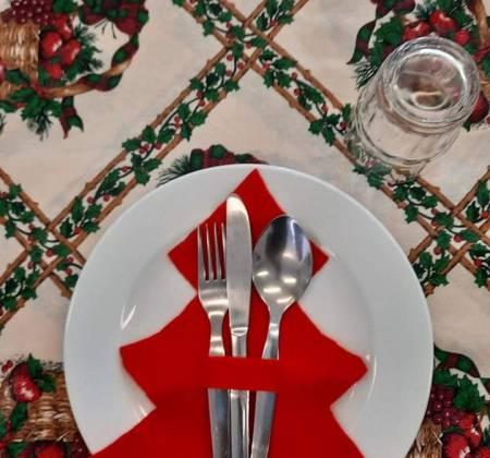 Marcador de Talheres Alusivos Natal