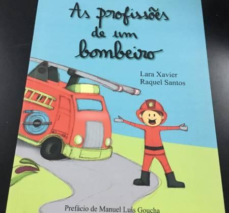 """Livro """"As profissões de um bombeiro"""""""