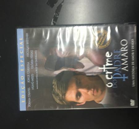 "DVD "" O crime do padre Amaro"