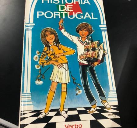 Livro a minha primeira história de Portugal