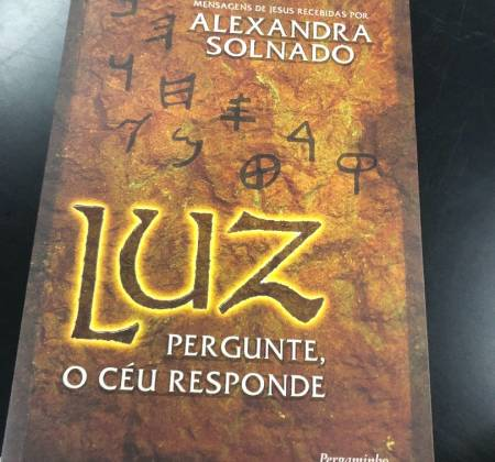 """Livro """"Luz"""" - Pergunte o céu responde"""