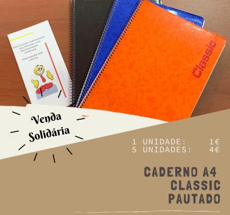 Caderno A4 classic pautado