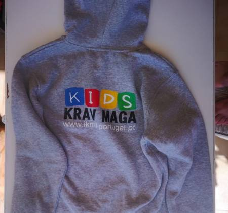Sweat Cinza IKMF Kids