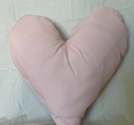 Almofada rosa bebé