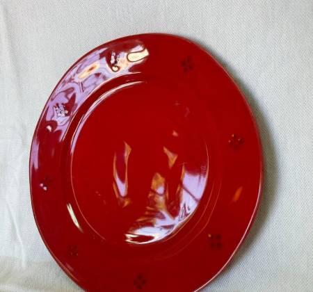 Prato vermelho