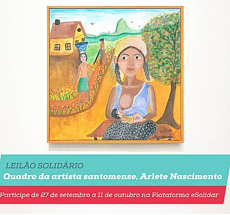 Quadro original da artista Arlete Nascimento