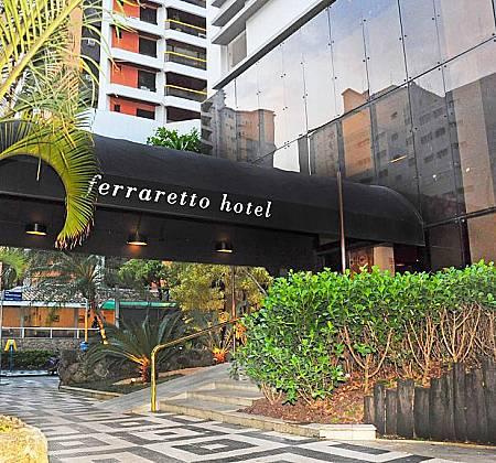 Ferraretto Hotel Guarujá - Final de semana Casal com Café da manhã