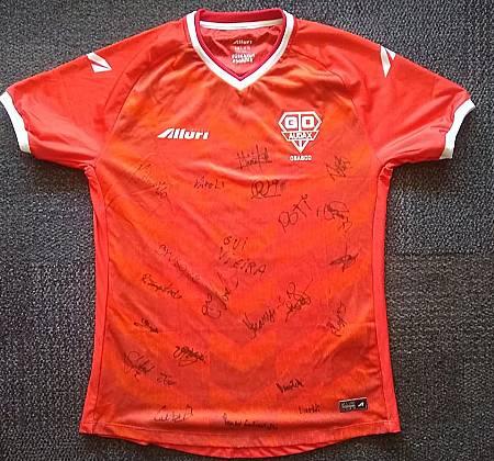 Grêmio Osasco Audax shirt - Autographed by the cast