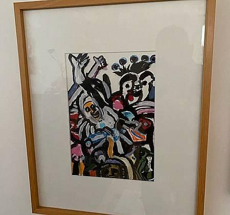 Tela do artista plástico Carlos Mendonça