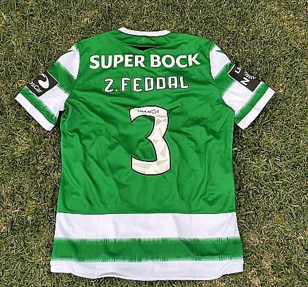 Camisola do SCP (Sporting Clube de Portugal) autografada pelo plantel