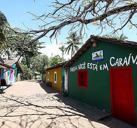 Pousada Luzes de Caraíva Bahia- Final de semana p/ casal com café da manhã