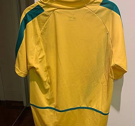 Camisa da Seleção Brasileira Pentacampeã de 2002 assinada pelo ídolo Denílson Show