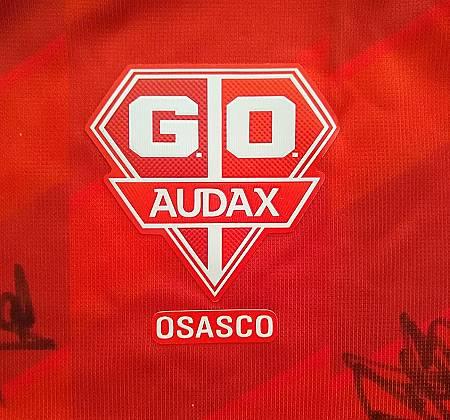 Camisa do Grêmio Osasco Audax - Autografada pelo elenco