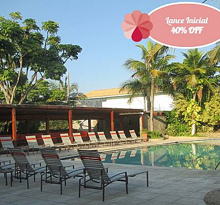 Delphin Hotel Guarujá - Final de semana para Casal com Café da manhã