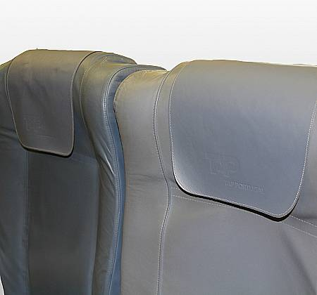Economic triple chair from TAP Air Portugal aircraft - 19