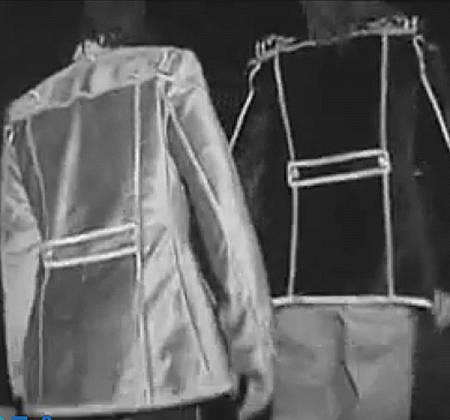 Casaco de Carlão, dos Da Weasel, usado no mítico concerto do Pavilhão Atlântico