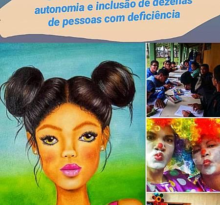 Obra Menina no Campo da artista Leonora Áquila