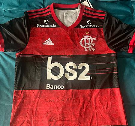 Official Flamengo shirt signed