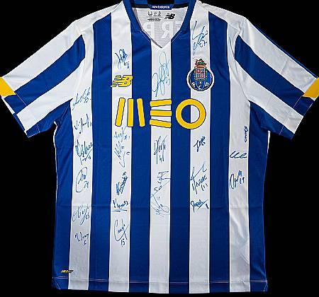Camisola oficial Futebol Clube do Porto autografada pelo plantel - Época 2020/2021