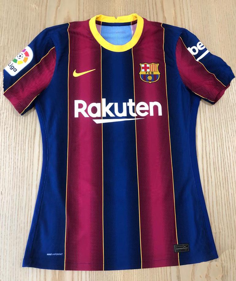 Camisola do FC Barcelona (Futbol Club Barcelona) autografada pelo jogador Francisco Trincão